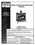 Earth Stove Traditions TG440 FS User Manual