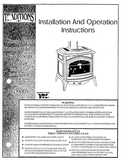 Earth Stove TG300DV User Manual - Gas_ESTG300DV