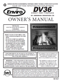 Enviro DV 36 User Manual - Gas_EDV36