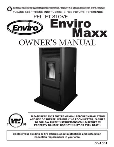 Enviro Maxx User Manual - Pellet_EnvMaxx