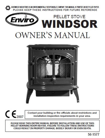 Enviro Windsor 2007 User Manual - Pellet_EWUM07