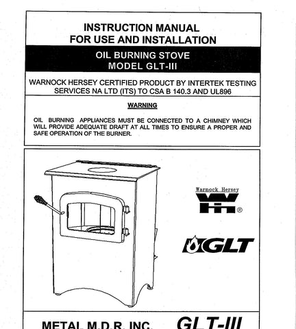 Flame GLT-III User Manual - Oil_GlameGLTIIIman