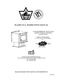 Flame NXT-I FL-050 Wood Stove Manual_NXT-I FL-050