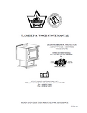 Flame XLT-I FL-025 Wood Stove Manual_XLT-I FL-025