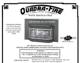 Quadrafire Grand Bay 40 insert User Manual - Gas-GB40i