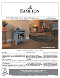 Hampton H15 DV User Manual - Gas_HH15DVFS