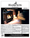 Hampton H25 DV User Manual - Gas_HH25DVFS