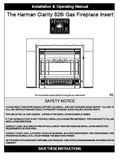 Harman 828i User Manual - Gas_Harman 828i