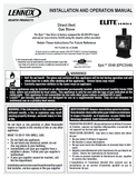 Lennox Epic DV 33/40 User Manual - Gas_LXEDV33/40