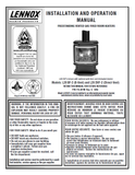 Lennox L20 DVF-2 & L20 BF-2 Rev C User Manual