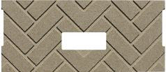 Whitfield FIREBRICK, HERRINGBONE DESIGNER SERIES PP1209