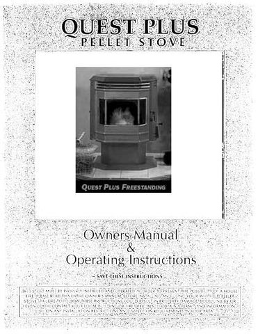 Whitfield Quest Plus User Manual - Pellet_WQPUM