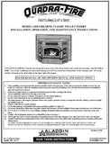 Quadrafire 1100 Insert Tech Manual - Pellet_QF1100-Ism