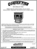 Quadrafire 800 Nova User Manual - Pellet_QF800