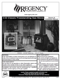 Regency C33 Classic FS User Manual - Gas_RGC33FS