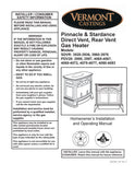 Vermont Castings Pinnacle & Stardance User Manual - Gas_VCpinstar