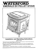 Waterford Emerald DV User Manual - Pellet_WFEDVPS