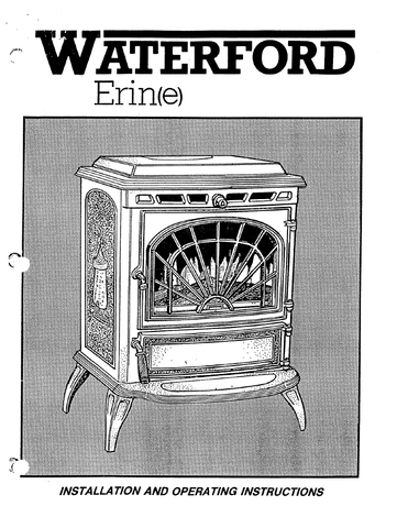 Waterford Erin E User Manual - Wood_WFEEWS on
