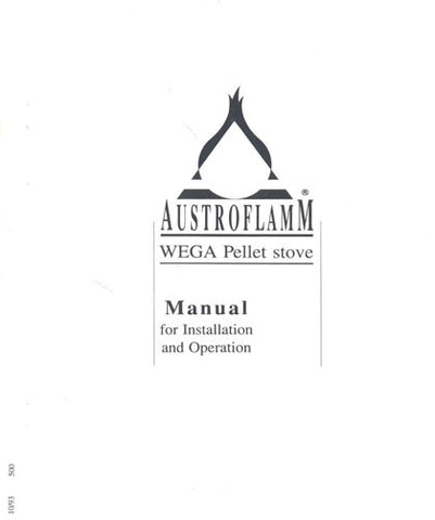 Austroflamm Wega User Manual - Pellet_aw