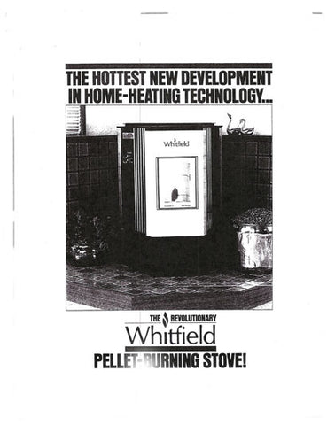 Whitfield Legend User Manual - Pellet_WPLegendUM