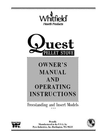 Whitfield Quest User Manual - Pellet_wq