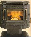 Advantage Pellet Stove Center Glass_12146400