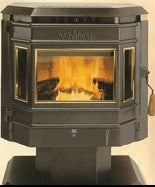 Whitfield Advantage Pellet Stove Center Glass_12146400