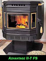 Whitfield Advantage Pellet Stove Side Glass 12146401