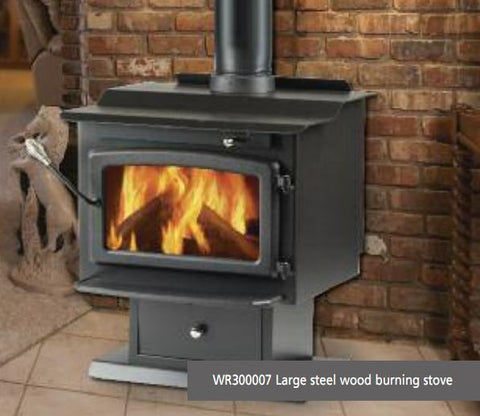 Windsor WR300007 CLEARANCE 1 ONLY Windsor Wood Stove_WR300007