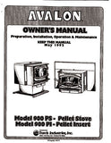 Avalon 900 1992 User Manual - Pellet_AV900um1992
