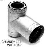 Chimney Tee With Cap_10W-T