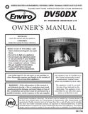 Enviro DV50DX User Manual - Gas_EG50DX