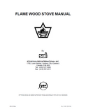 Flame Diplomat Wood Stove Manual_Flame Diplomat