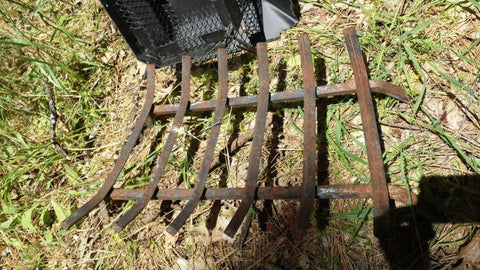 USED FIREPLACE GRATE 15X24_15X24FIREPLACEGRATEUSED