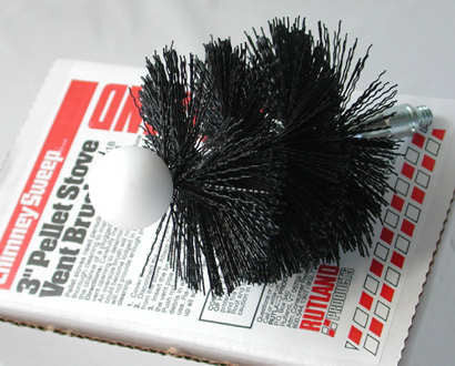 "3"" Pellet Stove Brush With Ball_PS-3"
