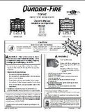 Quadrafire Topaz User Manual -Gas_QUTOPAZGAS