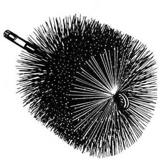 "9"" Round Wire Brush_16409"