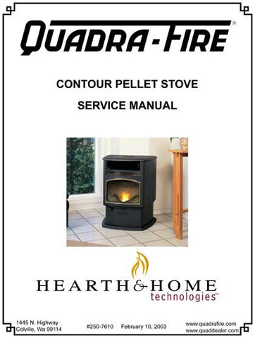 Quadrafire Contour Tech Manual - Pellet_QFContoursm on