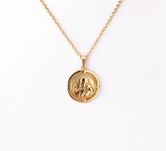 Collar Moneda Asís