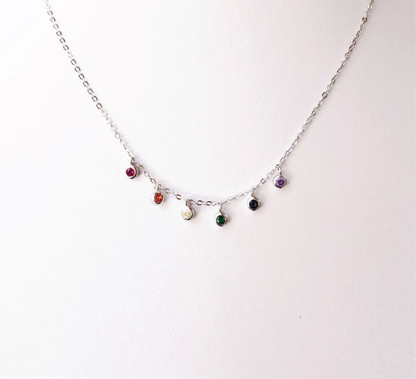 Collar Colgante Rainbow