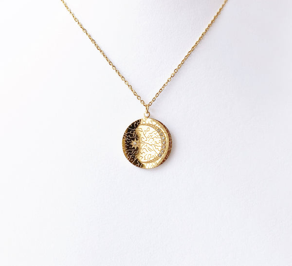 Collar Moneda Constelación