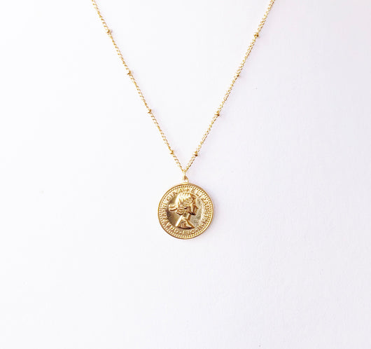 Collar Moneda Bruselas
