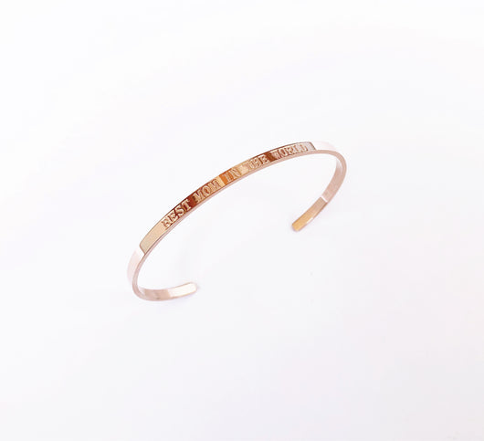 Pulsera Best Mom Rosa