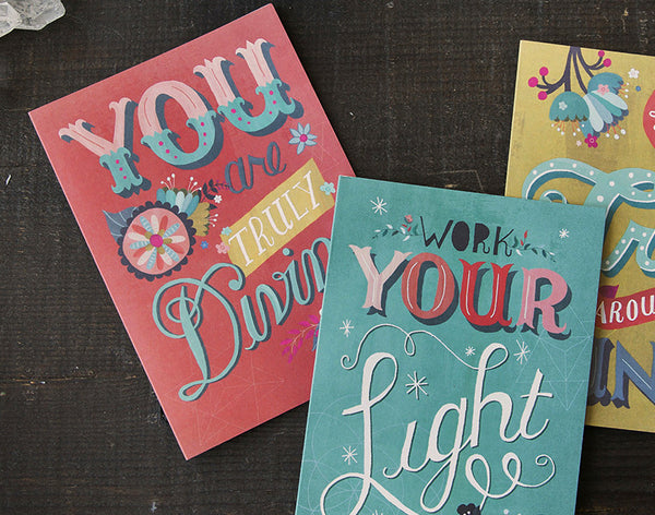 You Are Truly Divine greeting card