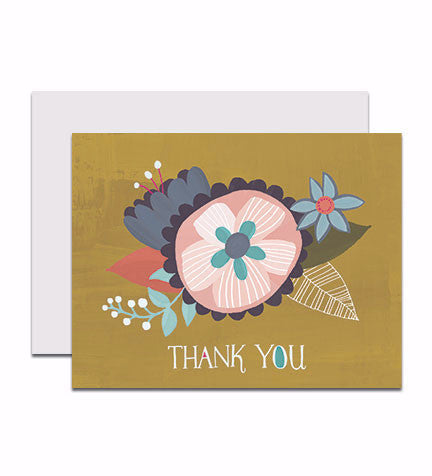 Boxed set of thank you notecards, entitled Thank You Blossom