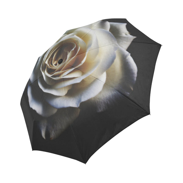 Rose Auto-Fold-able Umbrella
