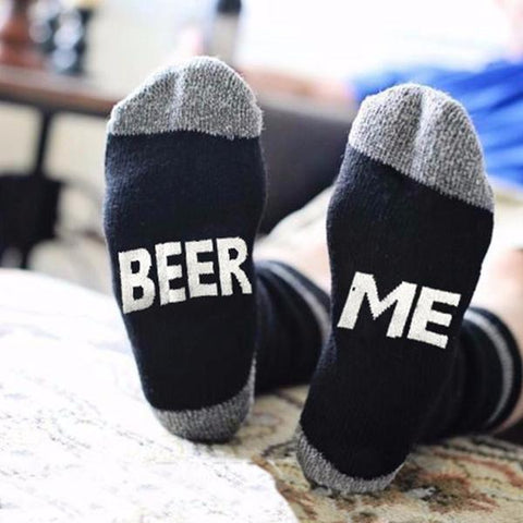 If You Can Read This - BEER ME - Socks - Slim Wallet Company