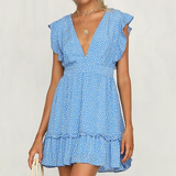 Blue Skies Dress - Slim Wallet Company