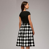 The Big Dots Dress - Slim Wallet Company