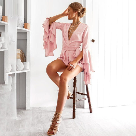Silky Sunday Playsuit - Slim Wallet Company